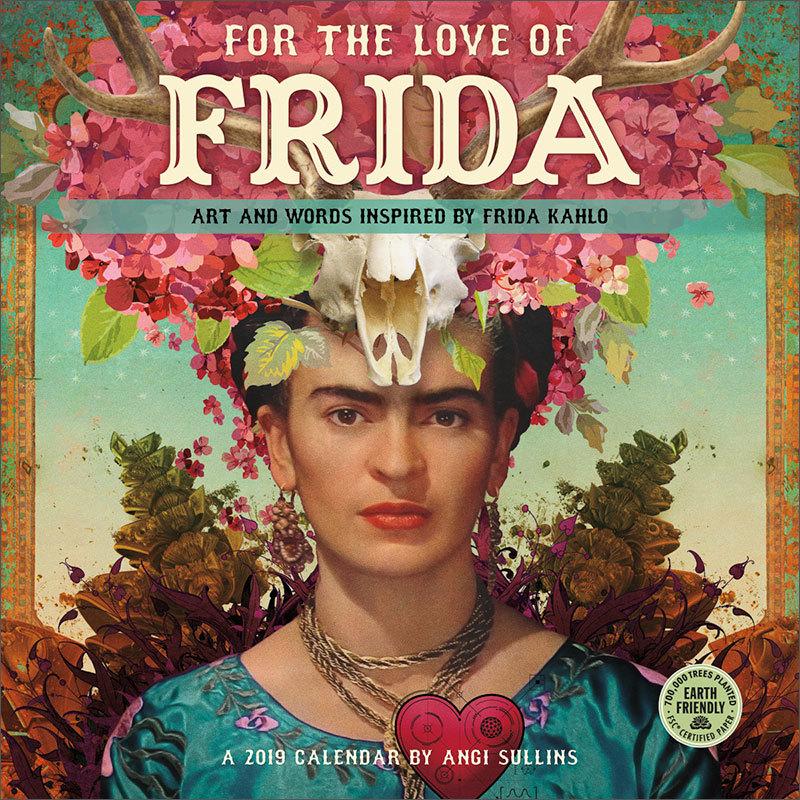 Frida 2019 calendar