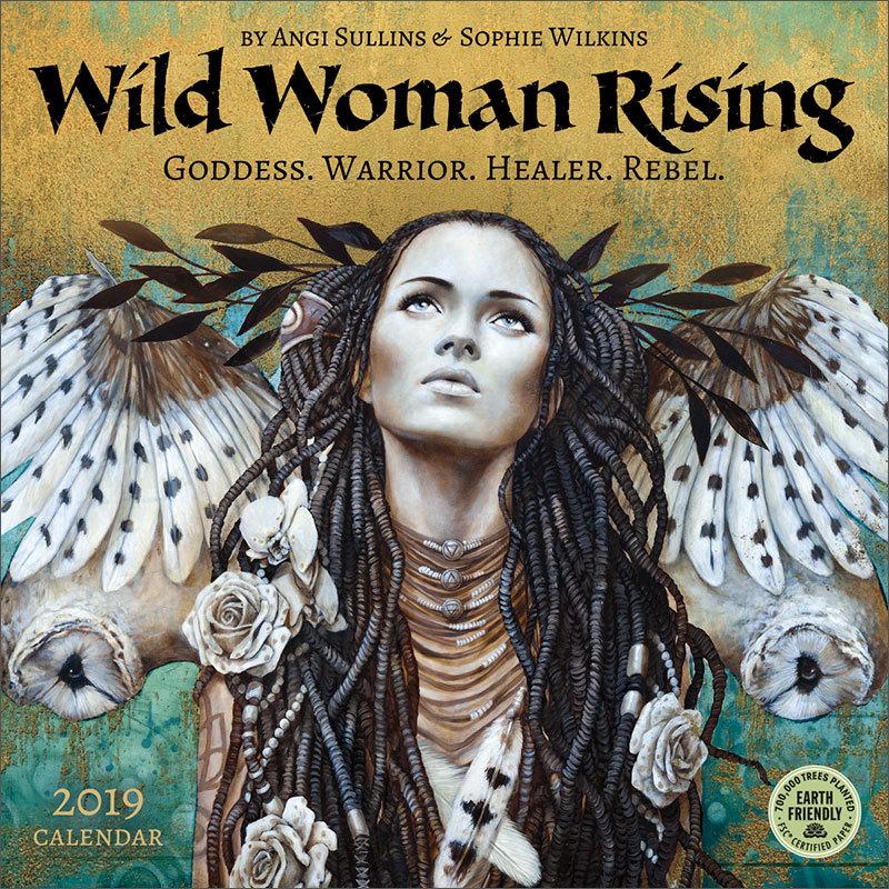 Wild Woman Rising 2019 calendar