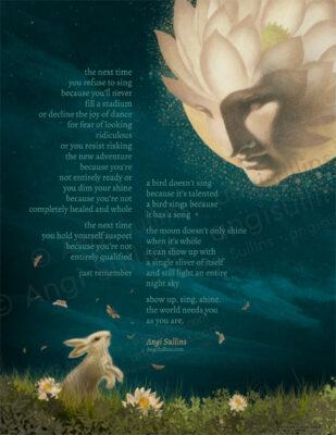 Poetry Print - 8.5x11